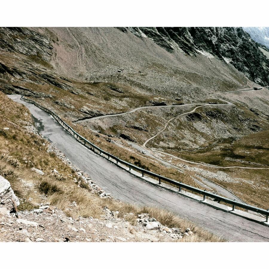 Quirin Leppert, Passo di Gavia II / Pigmentdruck Hahnemühle Fineart Papier kaschiert auf Alu-Dibond, Auflage: 9, signiert / 50x40 cm / 2012